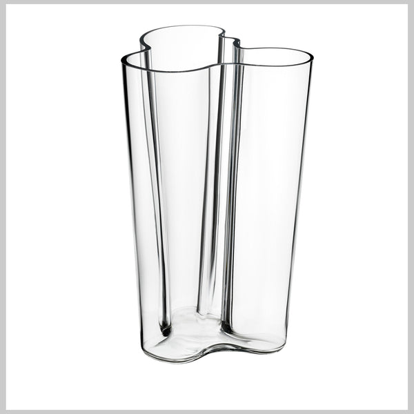 Iittala Aalto Vase Klar 251 mm - Norway Designs