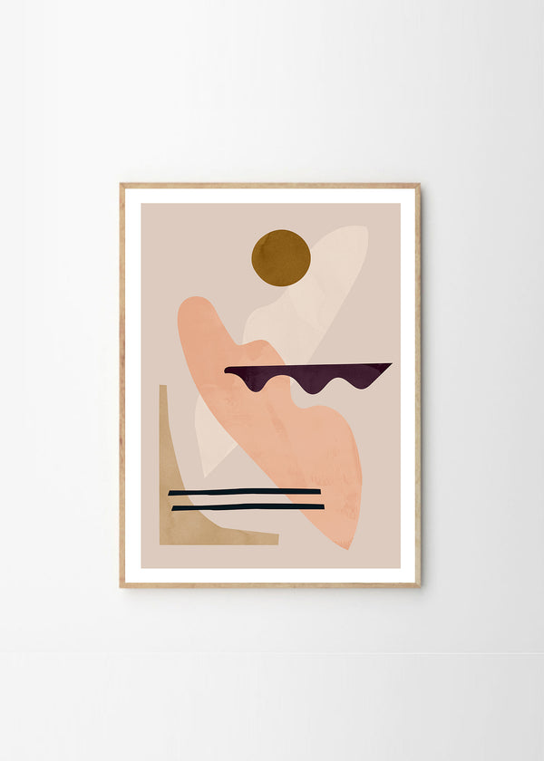 The Poster Club Jan Skacelik - Mellow - 50x70cm - Norway Designs