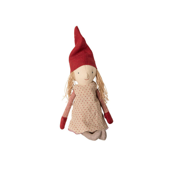 Julepynt Maileg Winter Friends Pixy Jente 32cm - Norway Designs