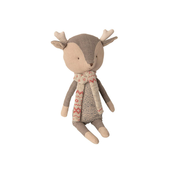 Julepynt Maileg Winter Friends Reinsdyr Gutt 28cm - Norway Designs