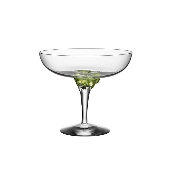Kosta Boda Sugar Dandy Coupe Cocktailglass Grønn - Norway Designs