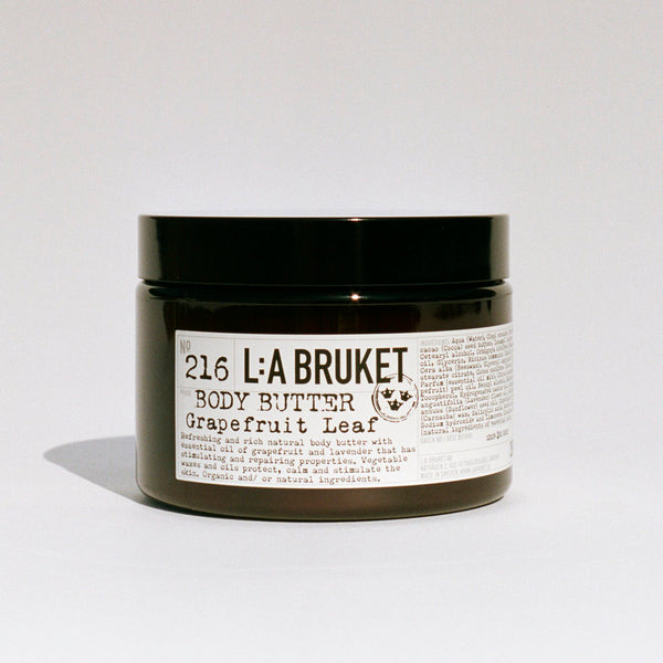 L:A Bruket 216 Body Butter Grapefruit Leaf 350g - Norway Designs