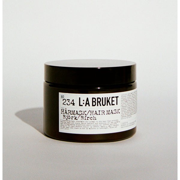 L:A Bruket 234 Hair Mask Bjørk 350g - Norway Designs