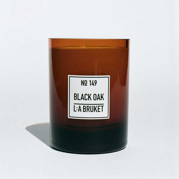 L:A Bruket Duftlys Black Oak No 149 260g - Norway Designs