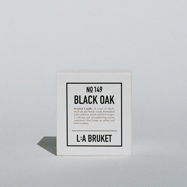 L:A Bruket Duftlys Black Oak No 149 50g - Norway Designs
