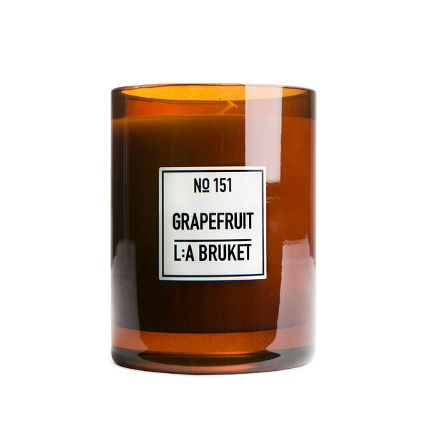 L:A Bruket Duftlys Grapefrukt 260g - Norway Designs