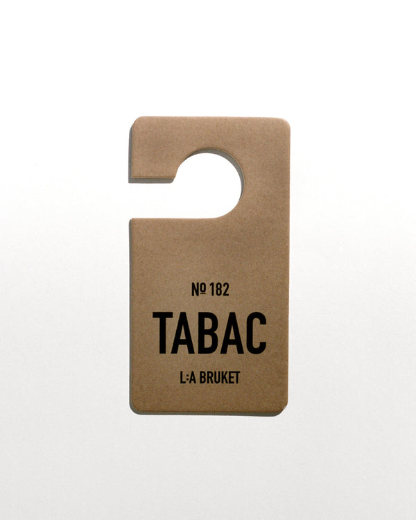L:A Bruket - Fragrance Tag Tabac no.182 - Norway Designs