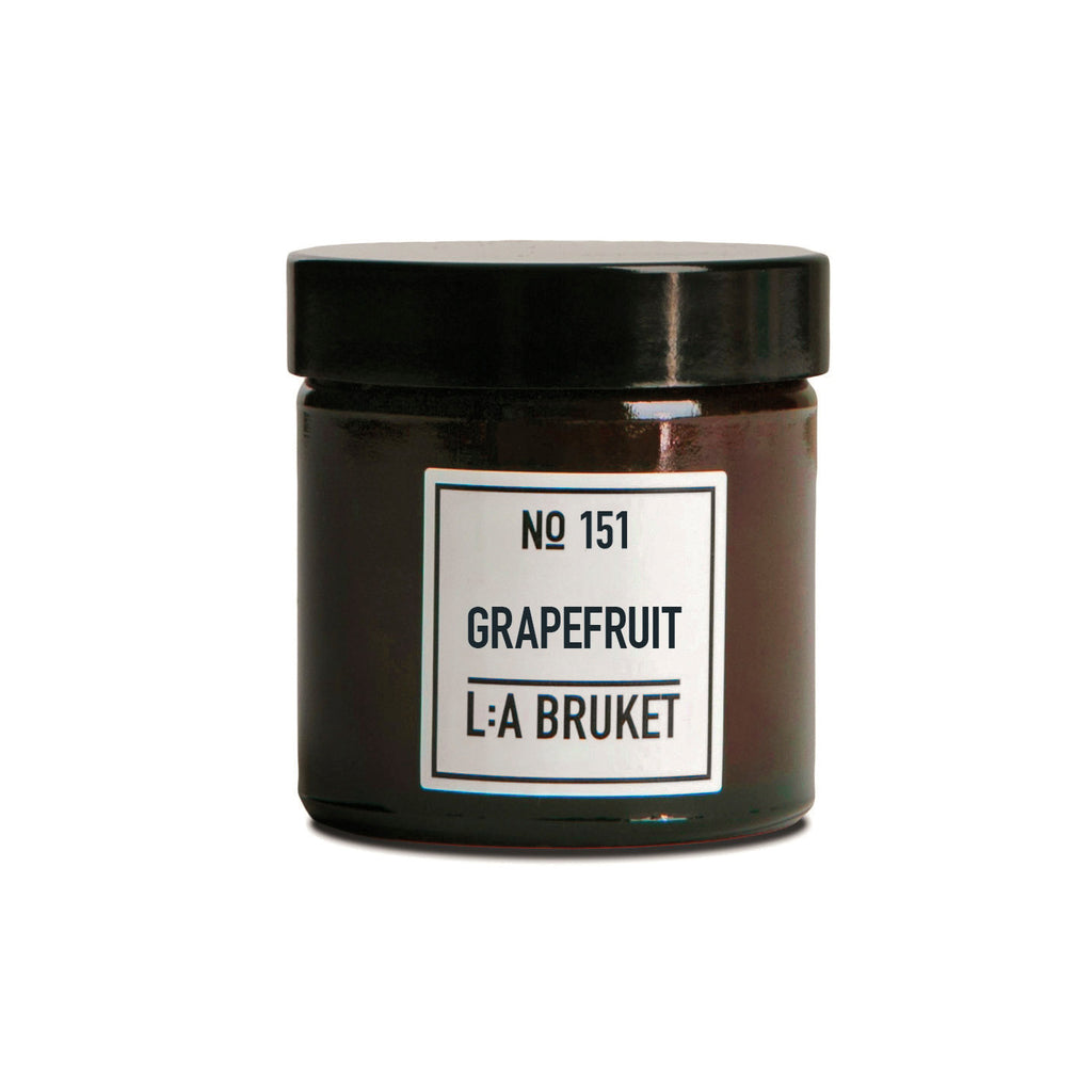 L:A Bruket Duftlys Grapefrukt 50g - Norway Designs