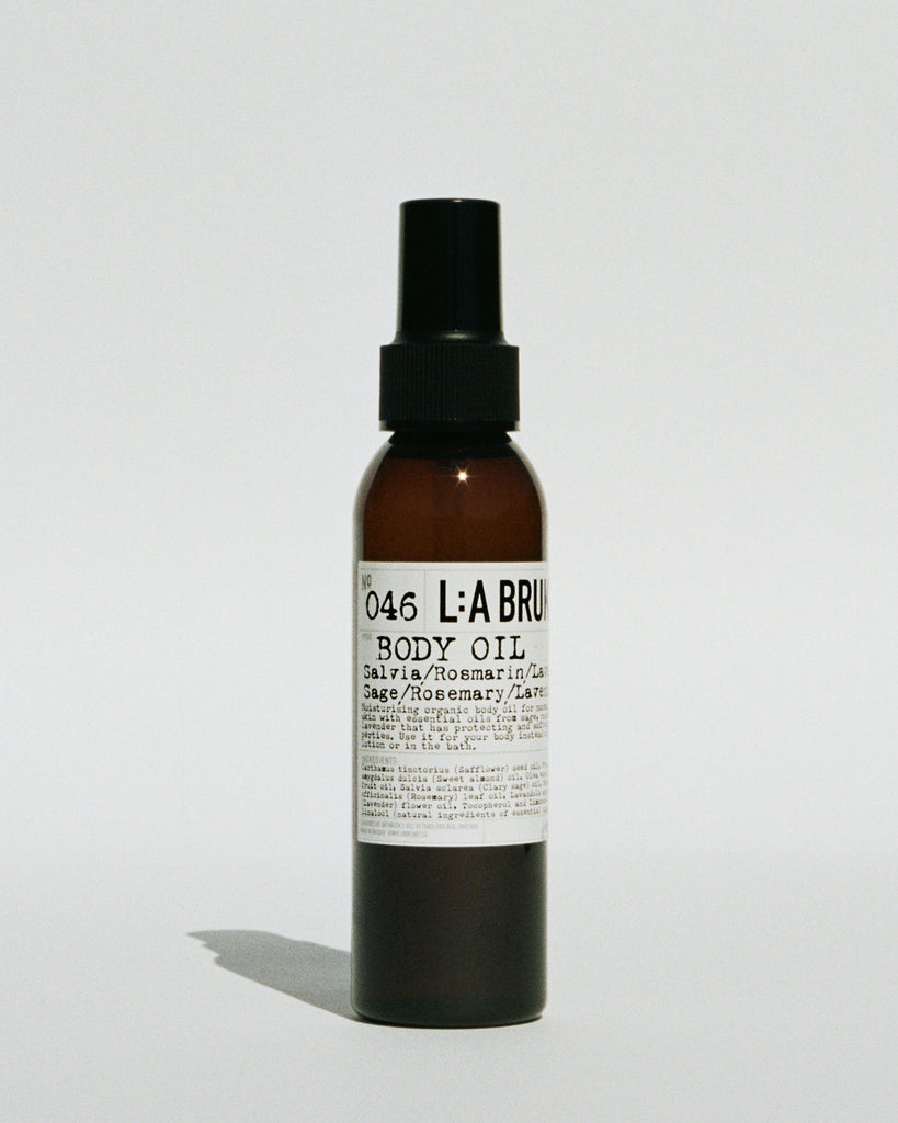 LA: Bruket 046 Body Oil 120 ml Sage/Rosemary/Lavender - Norway Designs