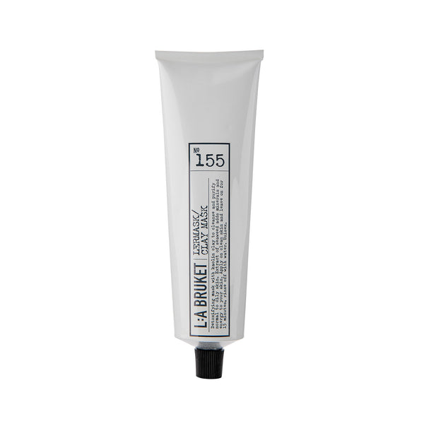 L:A Bruket 155 Clay Mask Naturel 100 ml - Norway Designs
