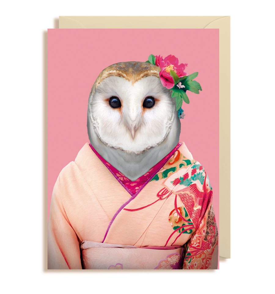 Lagom Design - Barn Owl Kort - Norway designs