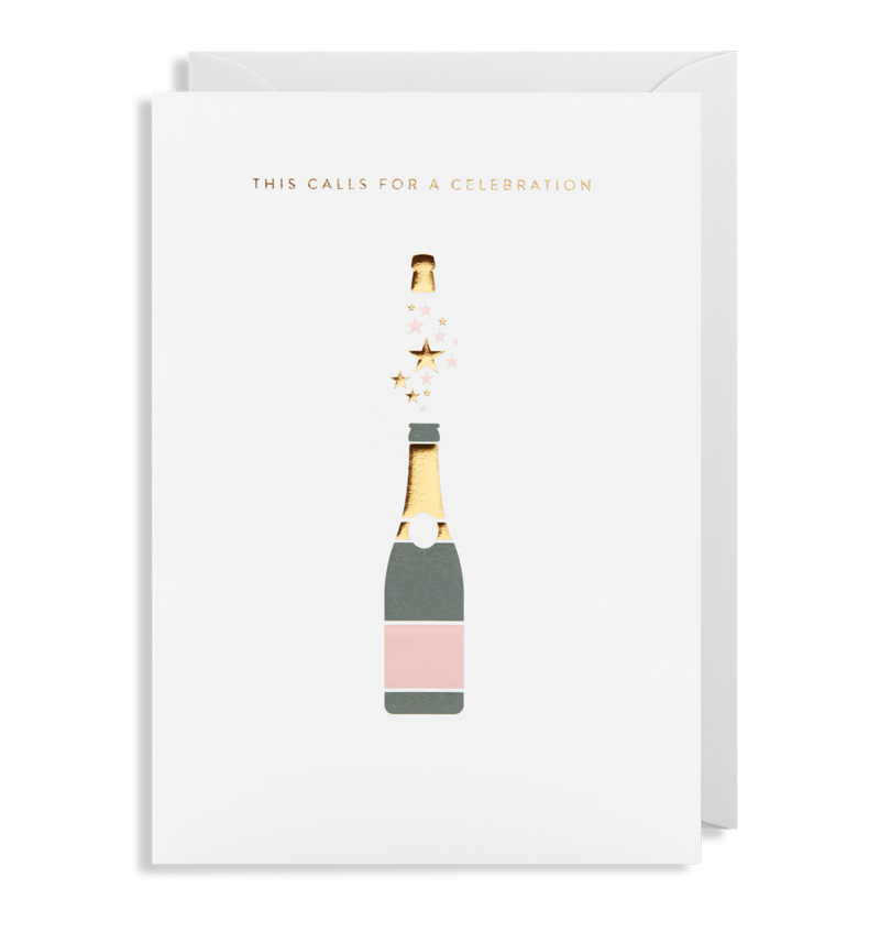 "Lagom Design - ""This Calls for A Celebration"" Kort - Norway Designs"