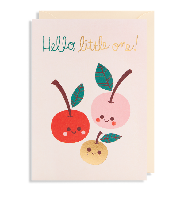 "Lagom Design - ""Hello Little One!"" Kort - Norway Designs"