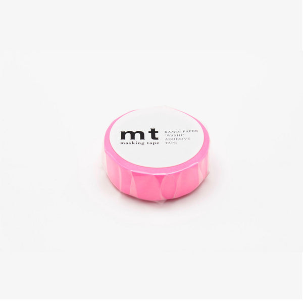 MT - Washitape 15mmx10m Shocking Pink - Norway Designs