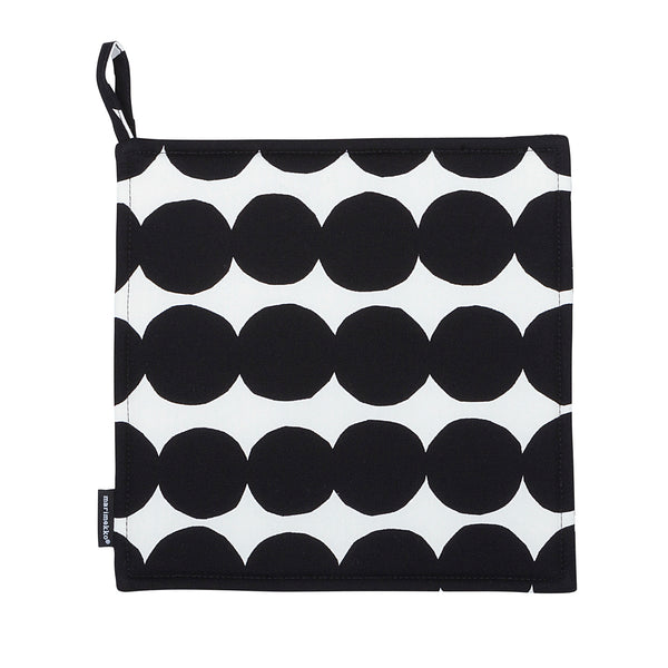 Marimekko Räsymatto Gryteklut Sort/Hvit - Norway Designs