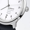 Mondaine - Helvetica No1 Regular - Armbåndsur - 40mm - Sort/Hvit - Norway Designs