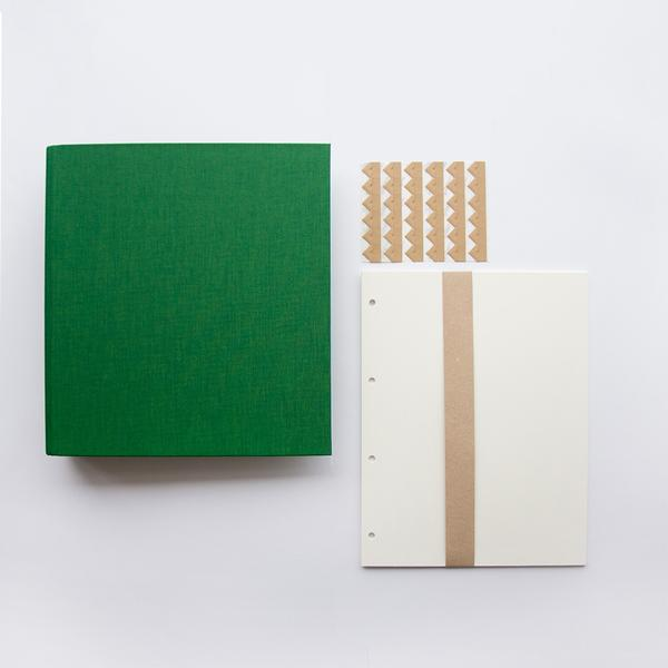Bookbinders - Fotokartong Krem 10stk - Norway Designs