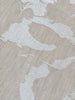 Plesner Patterns Marble Duk 150x250 Hvit/Ubleket - Norway Designs