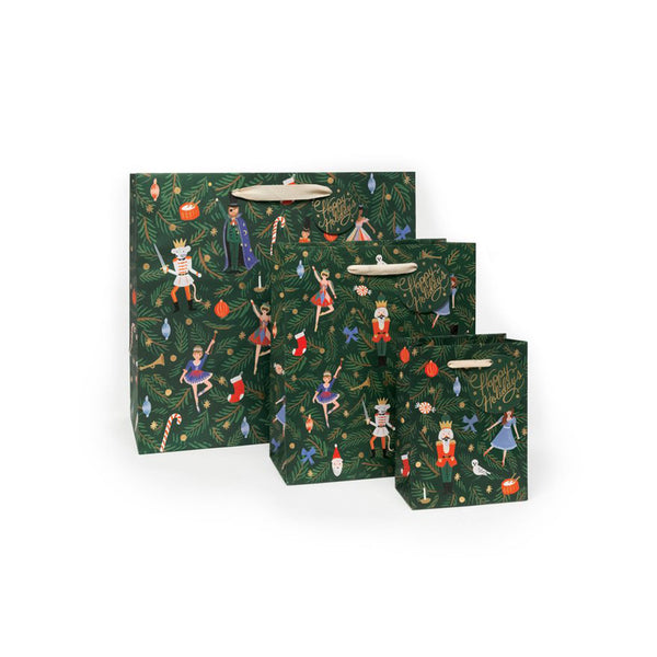 Rifle Paper Co - Nøtteknekker Gavepose Liten - Norway Designs