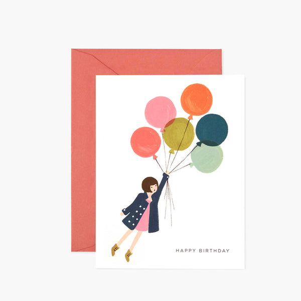 Rifle Paper Co Fly Away Birthday Kort - Norway Designs