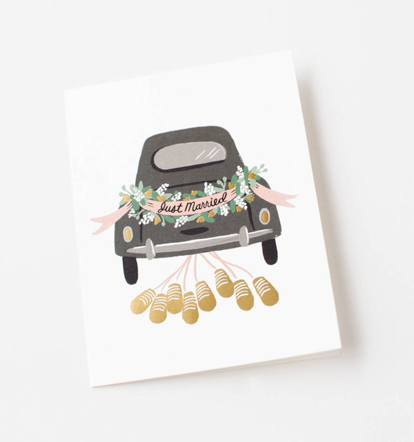 Rifle Paper Co. - Just Married Getaway Kort - Norway Designs