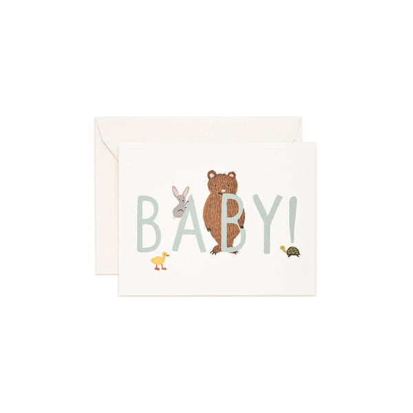 Rifle Paper Co. - Baby! Kort Mint - Norway Designs