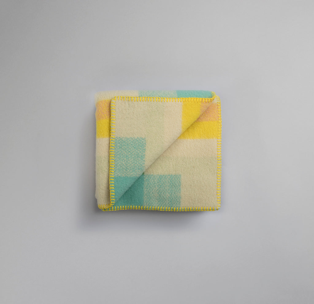 Mikkel Mini Barnepledd Pastell - Norway Designs
