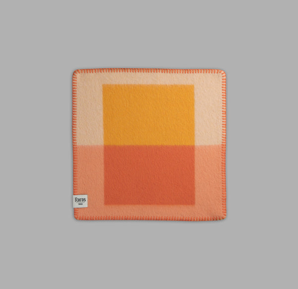 Røros Tweed Syndin Sitteunderlag Orange - Norway Designs
