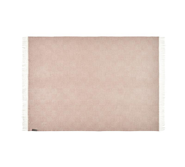 Silkeborg - La Paz Pledd 100% Baby Alpaca Dusty Rose - Norway Designs