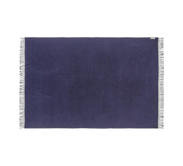 Silkeborg - Lima Pledd 100% Baby Alpaca Navy Blue - Norway Designs