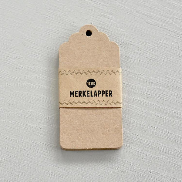 Stefan papir - Merkelapper kraft - Norway Designs
