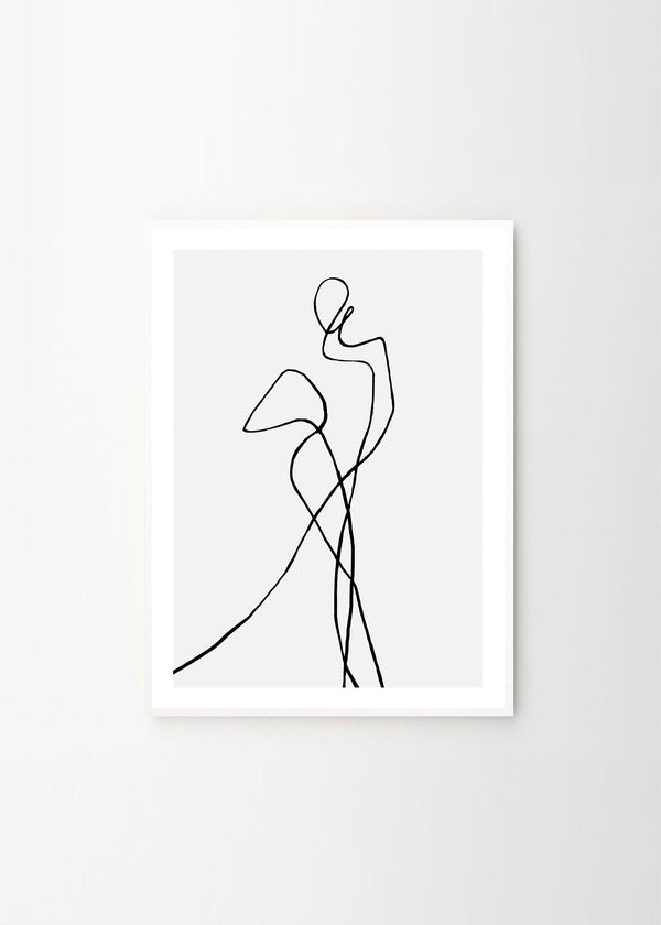 The Posterclub - Peytil Portofino Plakat 50x70cm - Norway Designs
