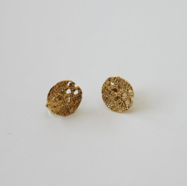 Lacy Lace Hoops Stud Earrings - Norway Designs