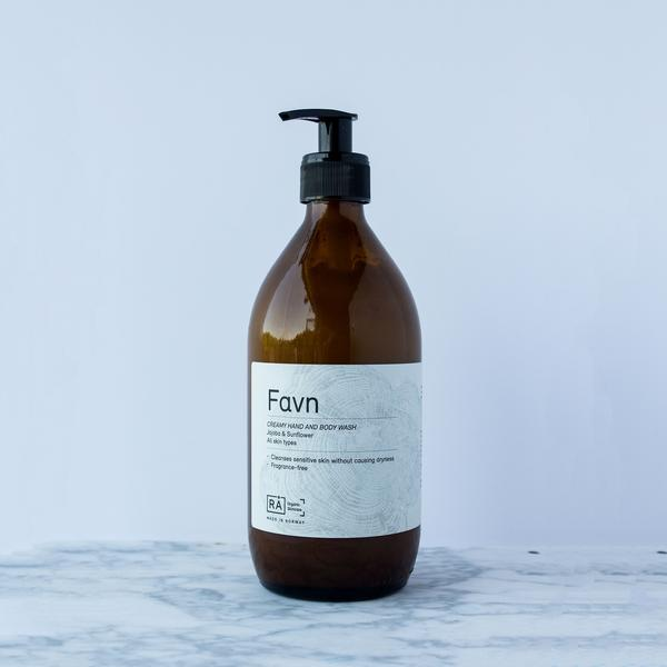 RÅ - Favn Creamy Hand and Body Wash - Norway Designs