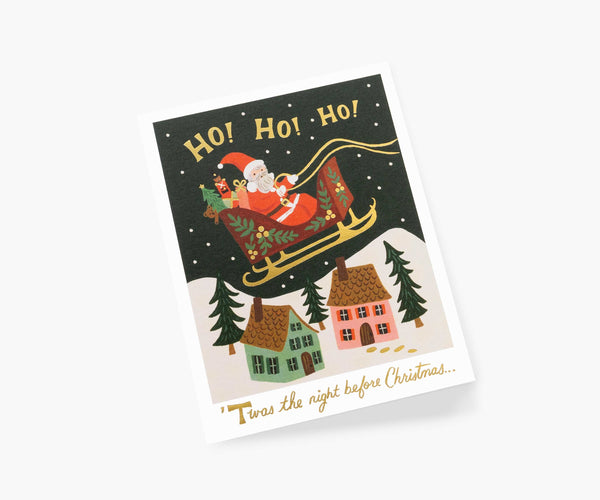 Rifle Paper Co Julekort 14x11cm - Christmas Delivery - Norway Designs
