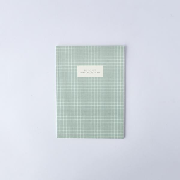 Kartotek GridNotebook Linjert 19x26cm Light Blue - Norway Designs