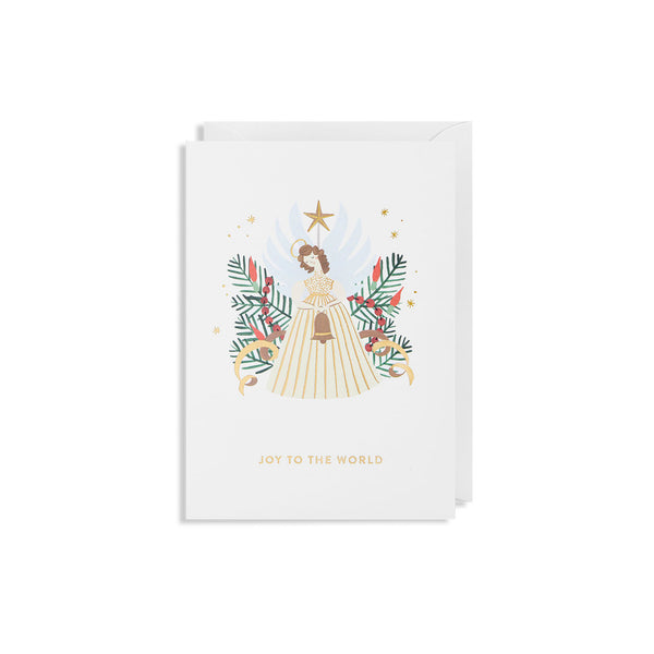 Lagom Design - Julekort Joy To The World - Norway Designs