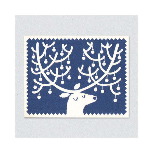 Lisa Jones Studio - Julekort Reindeer - Norway Designs