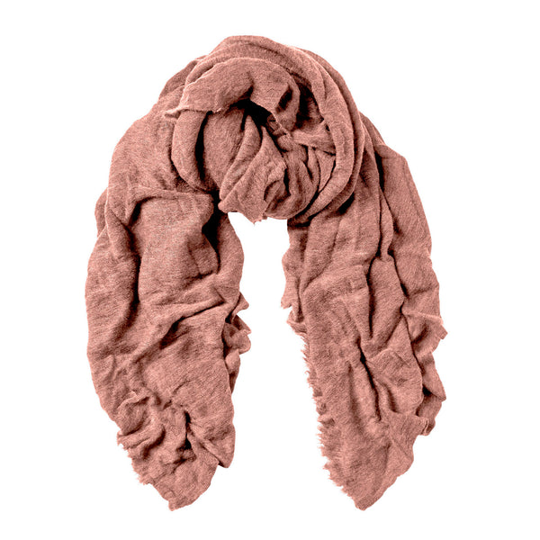 Natura Cashmere Luxury Skjerf 130x160 cm Foggy Rose - Norway Designs