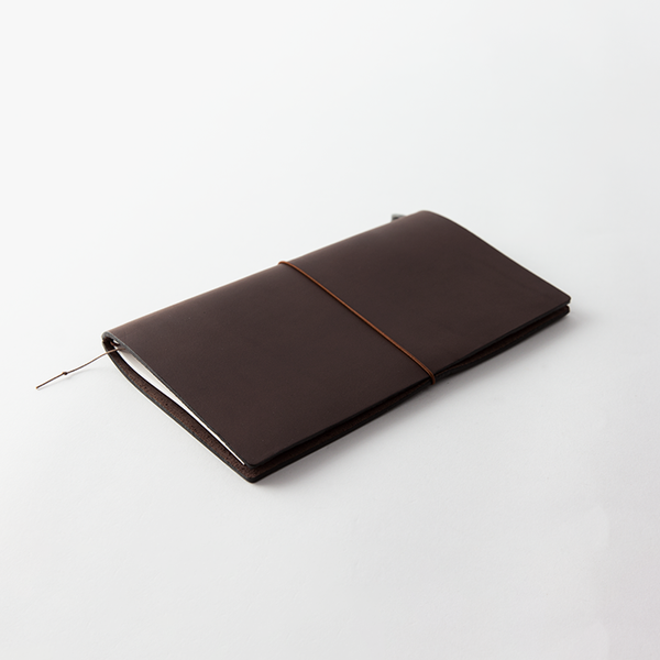 Traveler's Notebook Notebook - Brun