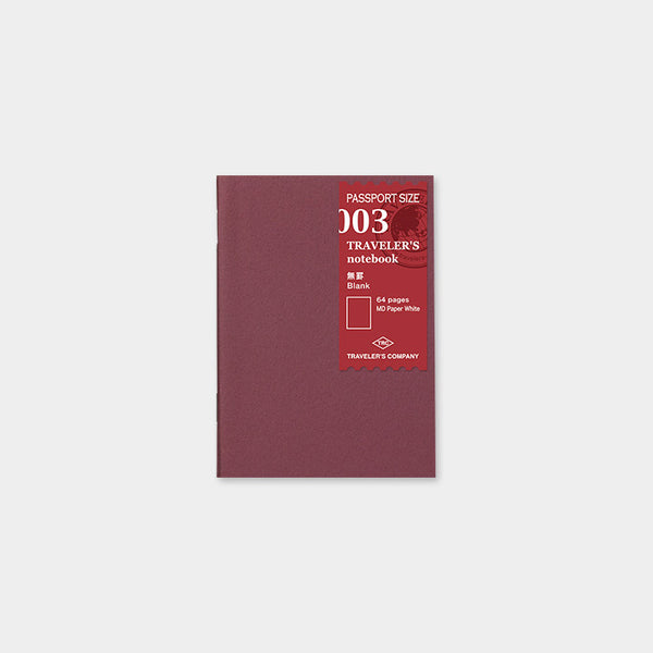 Traveler's Notebook Passport 003 Blank notebook - Norway Designs