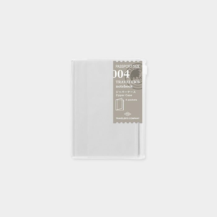 Traveler's Notebook Passport 004 Zipper pocket - Norway Designs