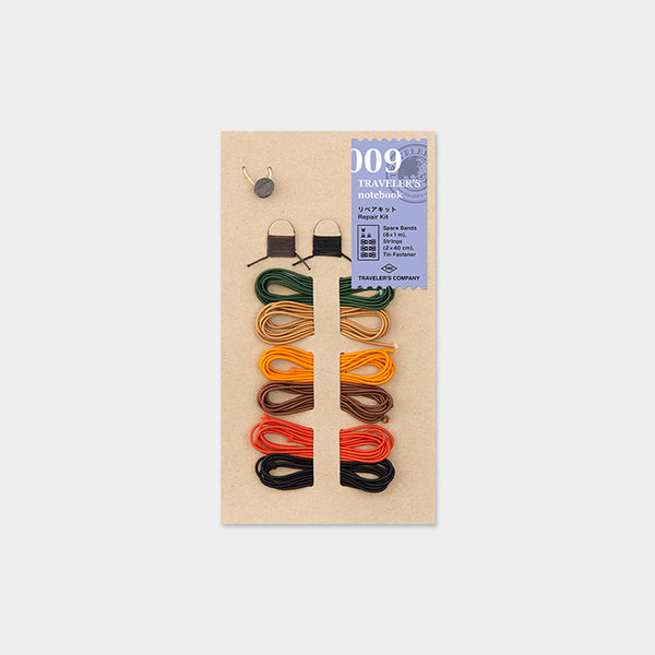 Traveler's Notebook 009 Repair Kit 6 Colors - Norway Designs