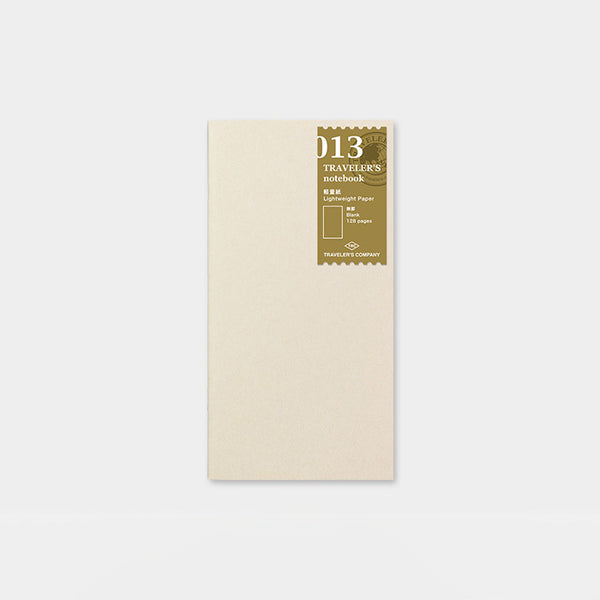 Traveler's Notebook 013 Lightweight paper notebook - Norway Designs