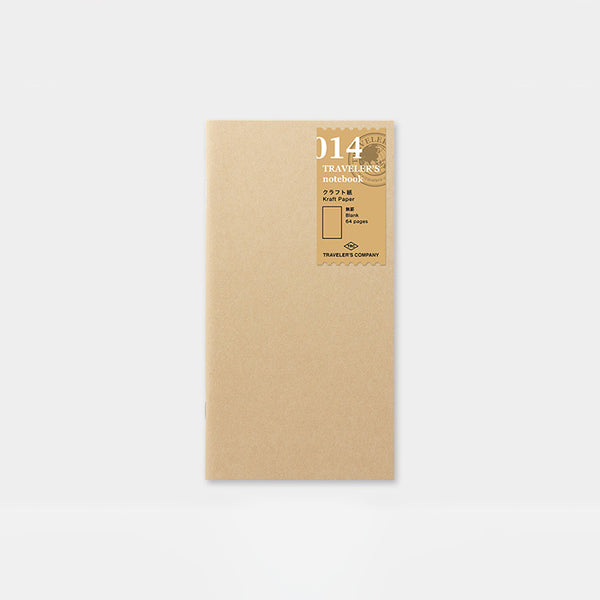 Traveler's Notebook 014 Kraft paper Notebook Refill - Norway Designs