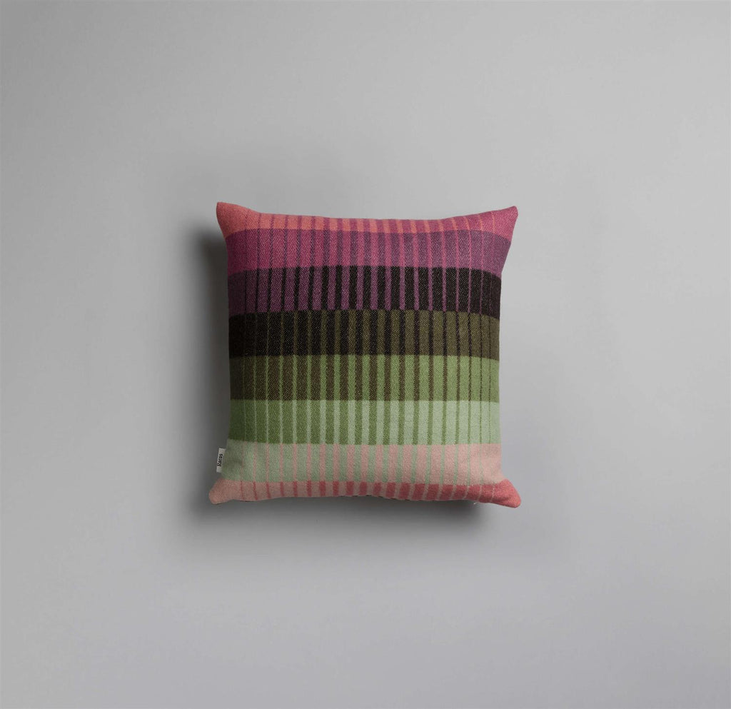 Åsmund Gradient Pute Rosa/Grønn - Norway Designs