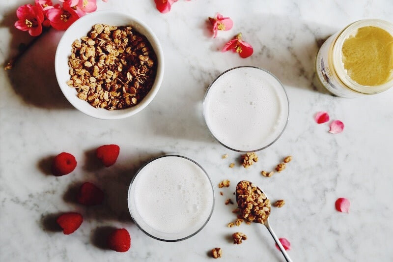 How to Make Your Own Nut Milk in Under 3 Minutes (with ZERO Soaking or Straining)