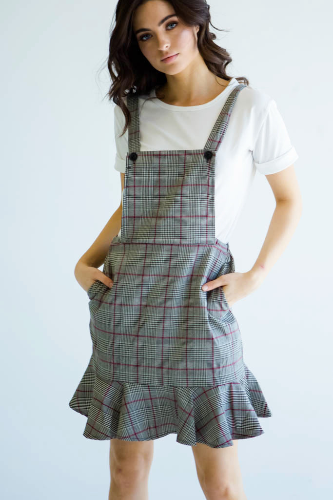 SADIE PINAFORE DRESS