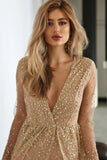 Stardust Dress - Gold
