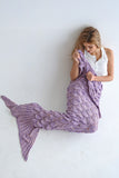 ARIEL MERMAID BLANKET - VIOLET